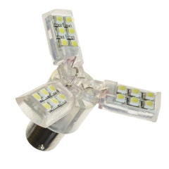 Diodlampa 3 wing (24 st LED)