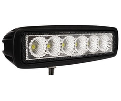 "LEDSON LED-backljus 6,3"" 18W (flood)"