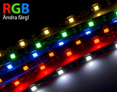 Flexistrip LED RGB (12V eller inomhus)