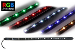 Heavy Duty RGB LED-list IP68 (12V, 60cm)