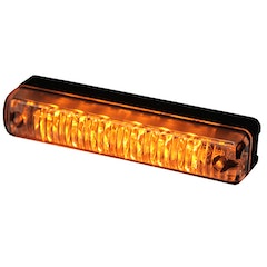 Warning light LED for grill mounting (ECE R65/R10/SAE)