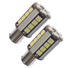 BA15s/P21W, 26 SMD, Xenonvit, CANBUS (2-pack)