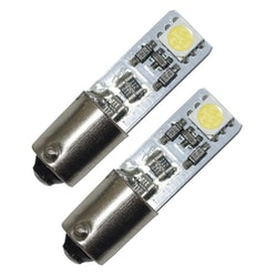 BAX9s/H6W, 2 SMD, Xenonvit, CANBUS (2-pack)
