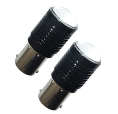 BA15s/P21W med 2 x Cree-dioder (Xenonvit, 2-pack)